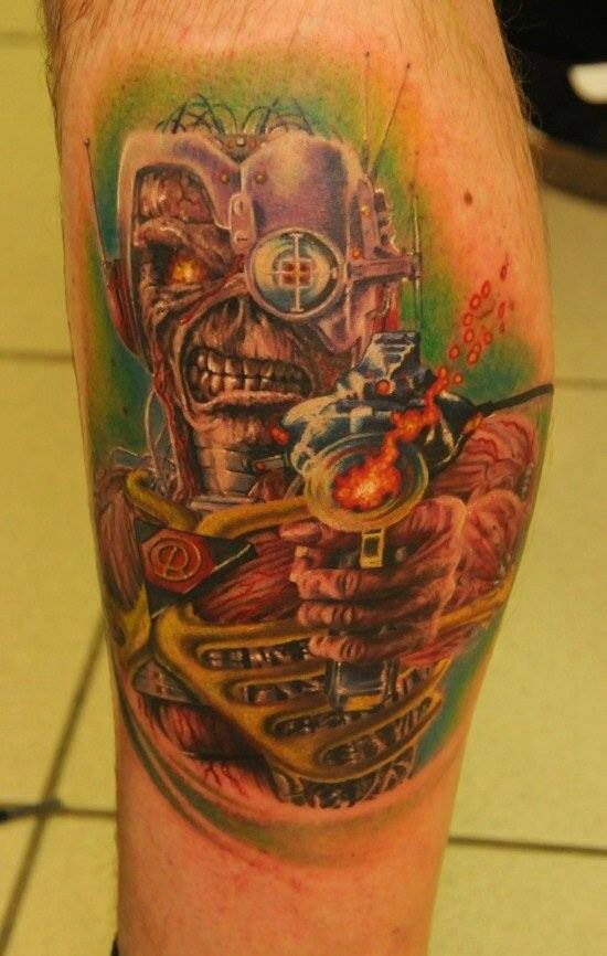 Tatuagens do Eddie do Iron Maiden 17