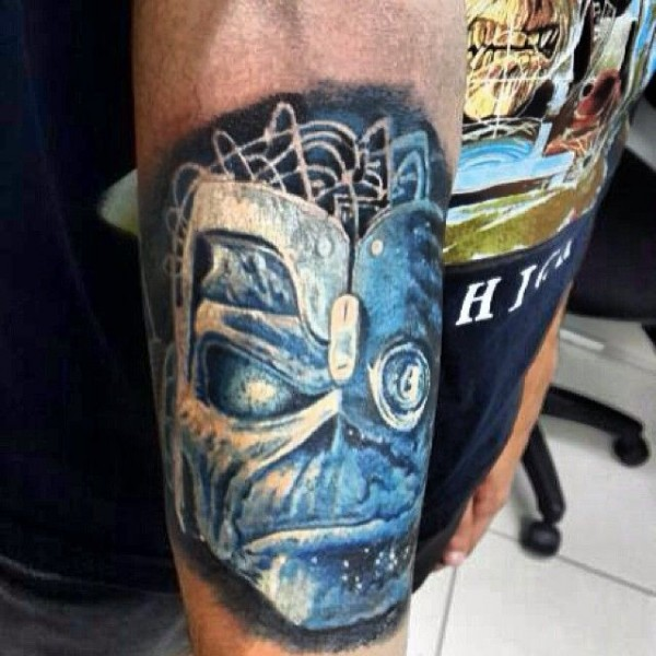 Tatuagens do Eddie do Iron Maiden 18