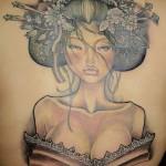 20 Tatuagens de Geishas
