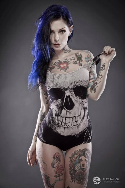 Namoradas Tatuadas 10