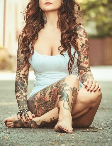 Namoradas Tatuadas 12