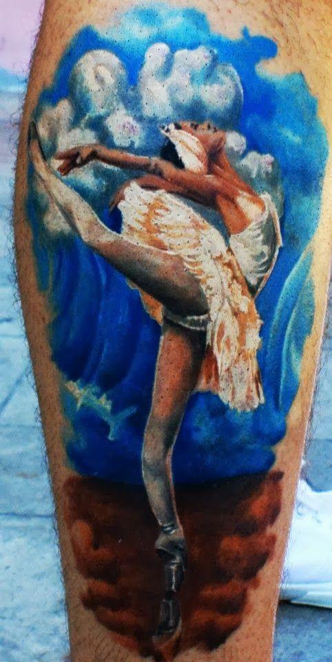 Tatuagens de Ballet 12