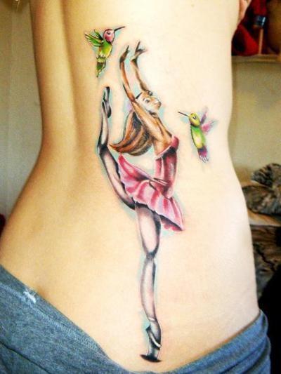 Tatuagens de Ballet 13