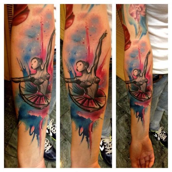 Tatuagens de Ballet 19