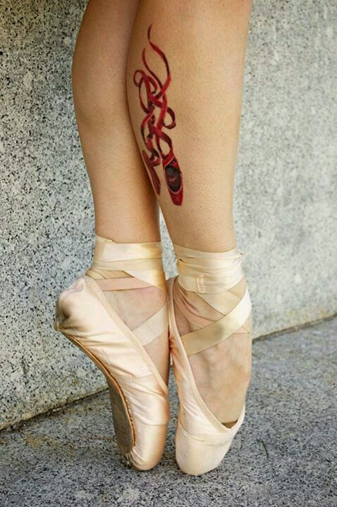 Tatuagens de Ballet 21