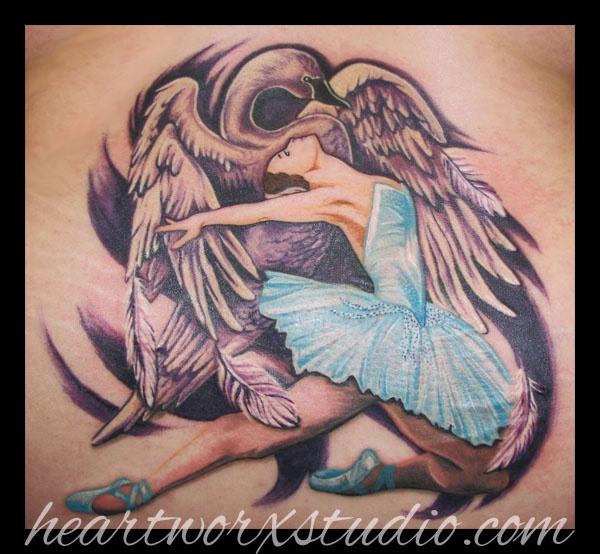 Tatuagens de Ballet 29