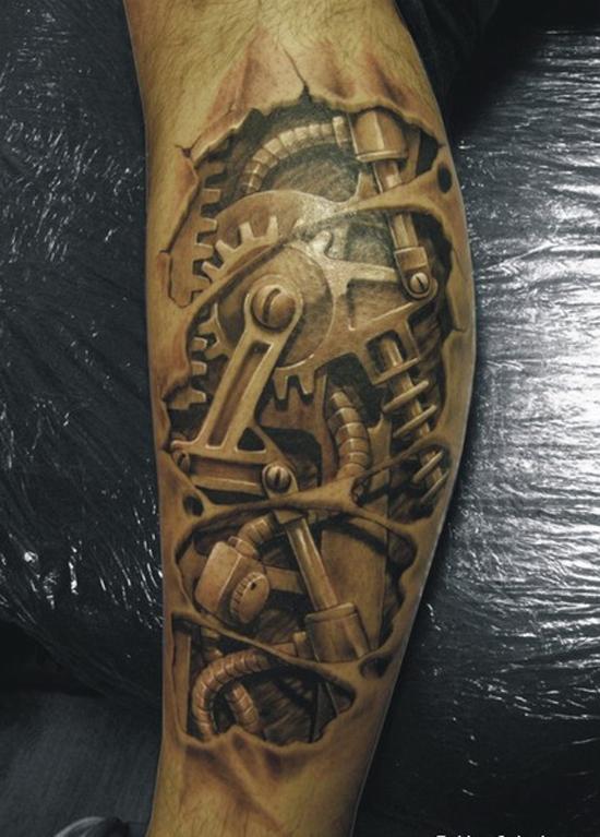 10 tatuagens realistas que vao agitar o seu dia 04