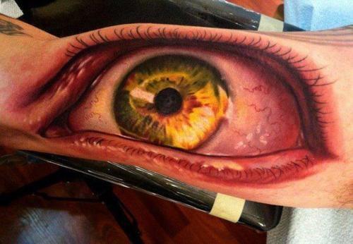 10 tatuagens realistas que vao agitar o seu dia 07