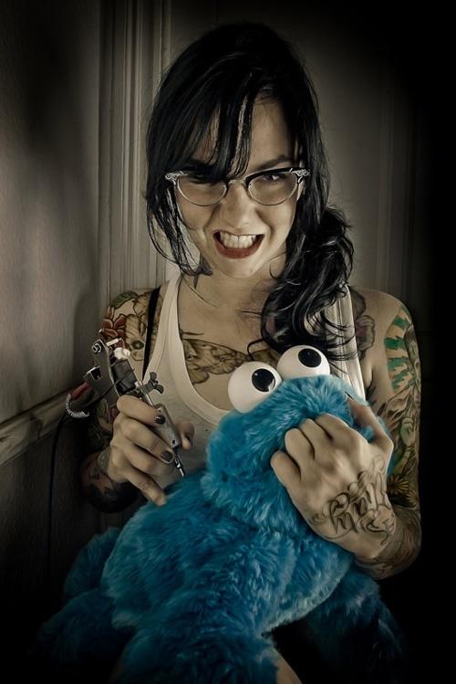 Mulheres tatuadas para casar 31