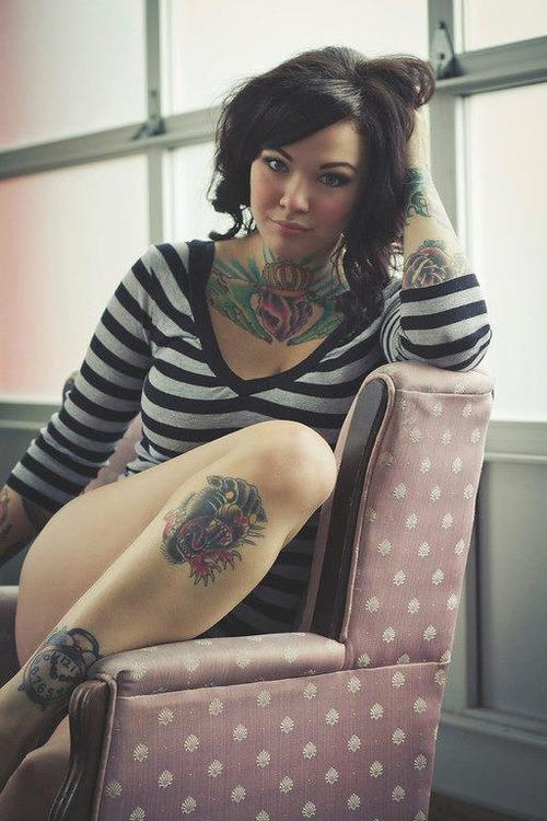 Mulheres tatuadas para casar 33