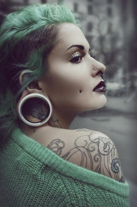 Mulheres tatuadas para casar 43