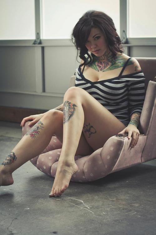 Mulheres tatuadas para casar 44