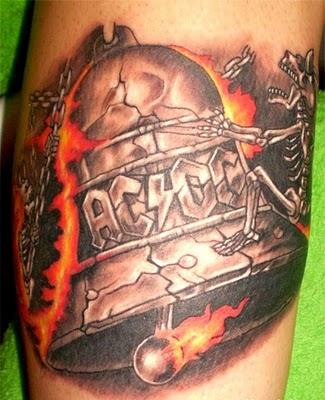 Tatuagens da banda ACDC 07