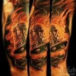 Tatuagens em homenagem ao AC/DC