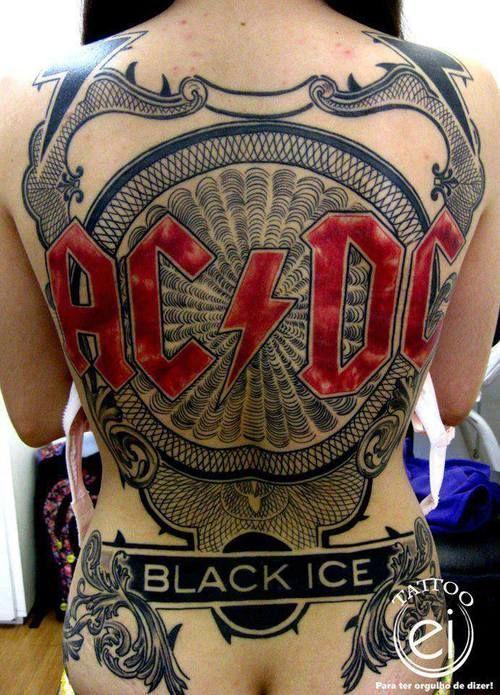 Tatuagens da banda ACDC 12