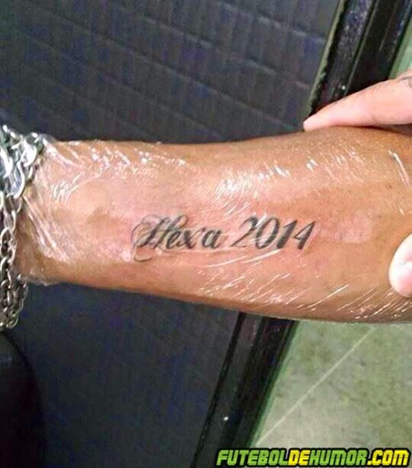 Tatuagem da Copa do Mundo 2014 -06