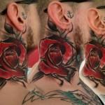 As tatuagens em aquarela de Lukasz Bam Kaczmarek