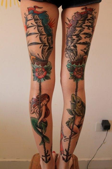 Tatuagens de Sereia 11
