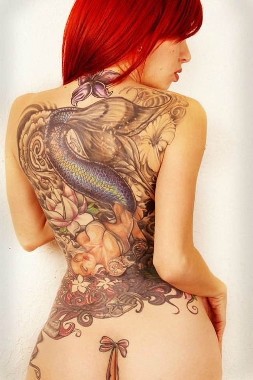 Tatuagens de Sereia 16