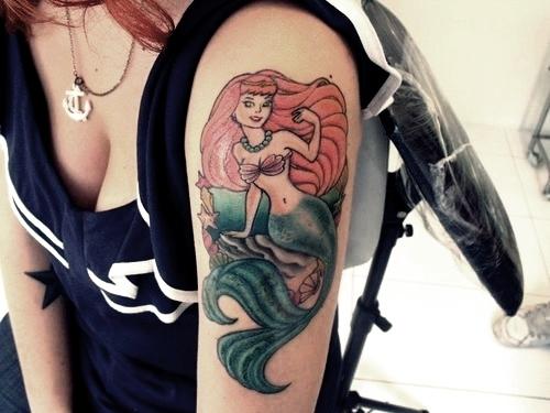 Tatuagens de Sereia 24