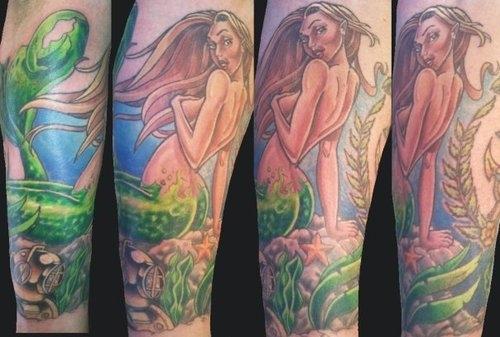 Tatuagens de Sereia 26