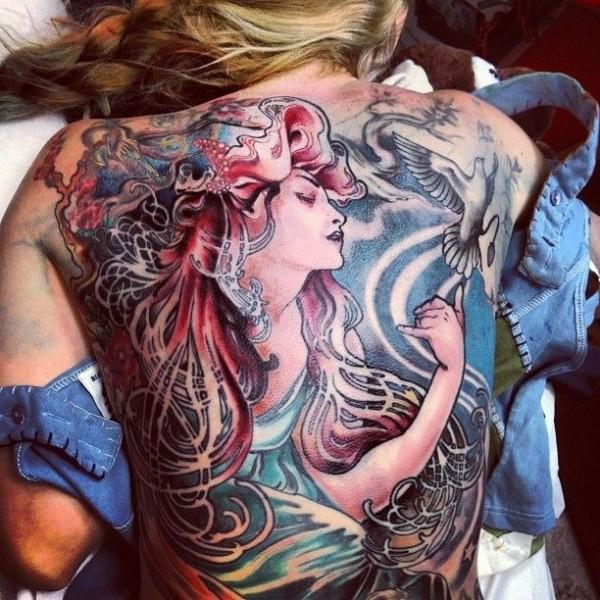 Tatuagens de Sereia 30
