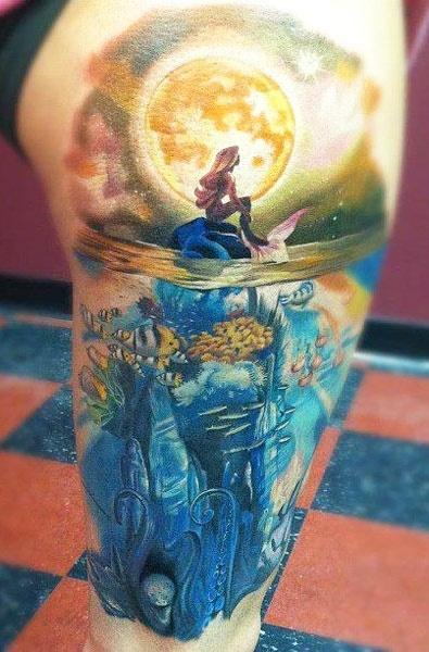 Tatuagens de Sereia 34