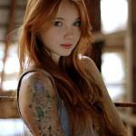 Mod Girls – 15 Ruivas Tatuadas para amar