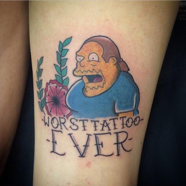 Tatuagem dos Simpsons 04