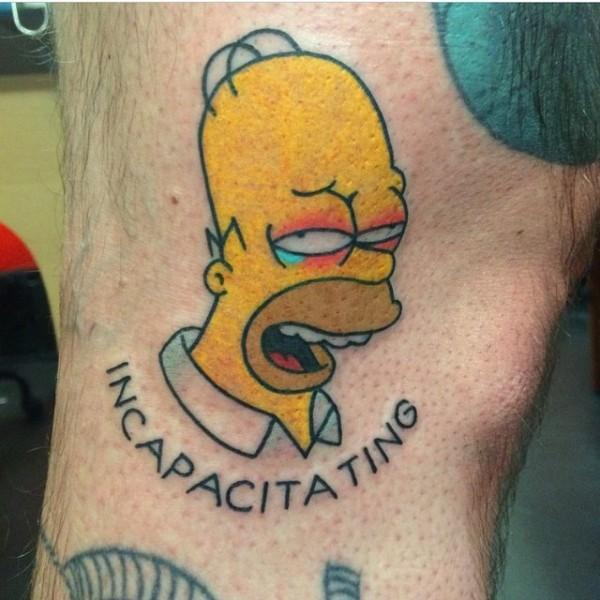 Tatuagem dos Simpsons 06