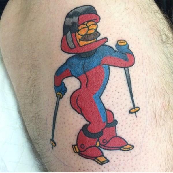 Tatuagem dos Simpsons 08