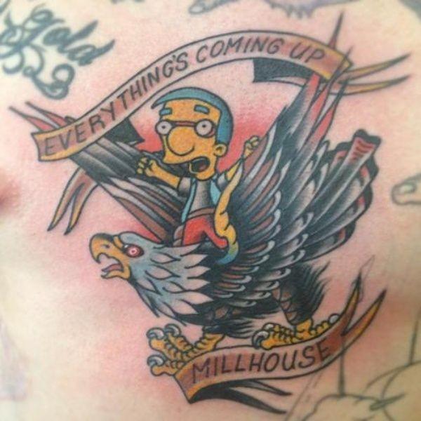Tatuagem dos Simpsons 10