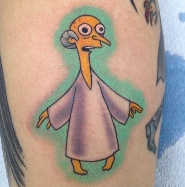 Tatuagem dos Simpsons 13