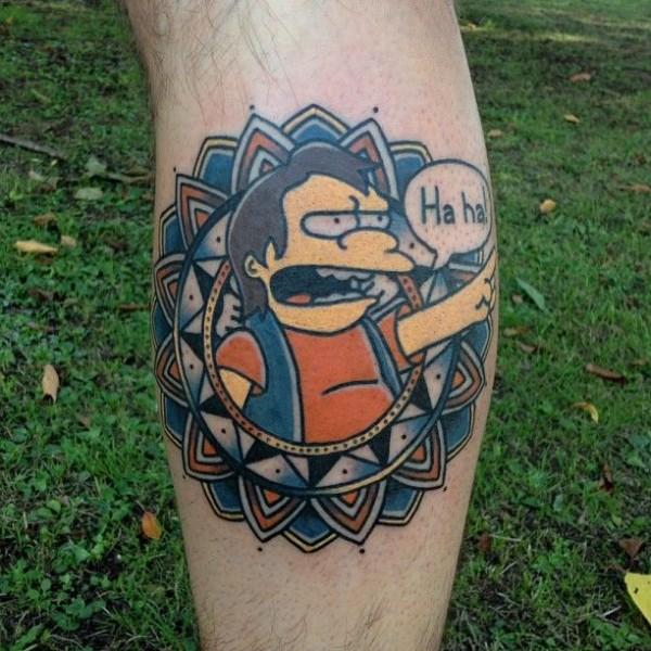 Tatuagem dos Simpsons 14