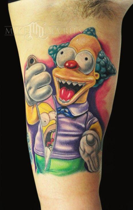 Tatuagem dos Simpsons 16