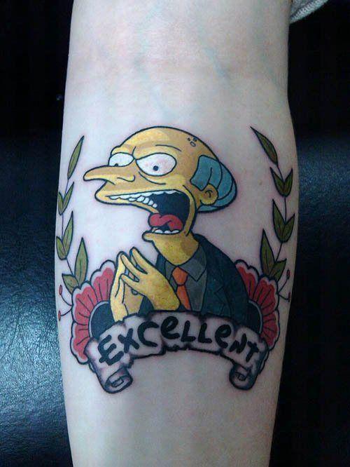Tatuagem dos Simpsons 17