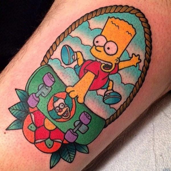 Tatuagem dos Simpsons 18