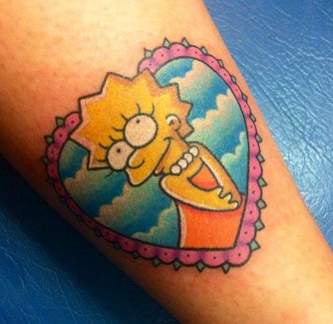 Tatuagem dos Simpsons 21