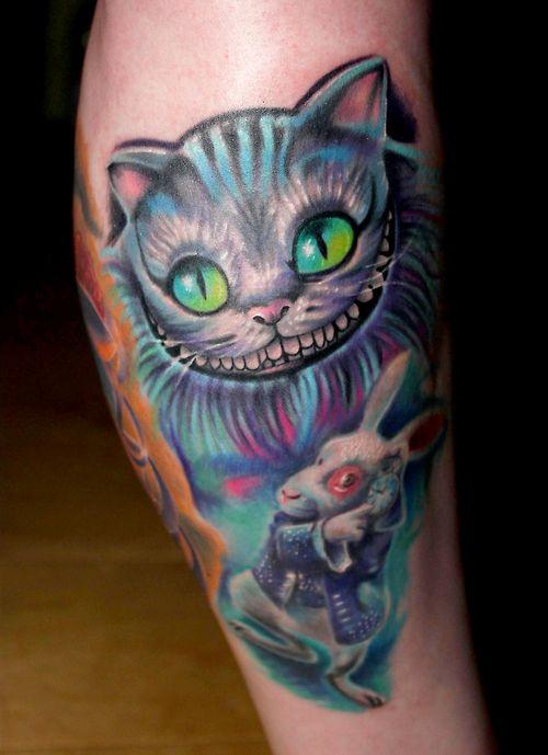 Tatuagens de Alice no Pais das Maravilhas 06