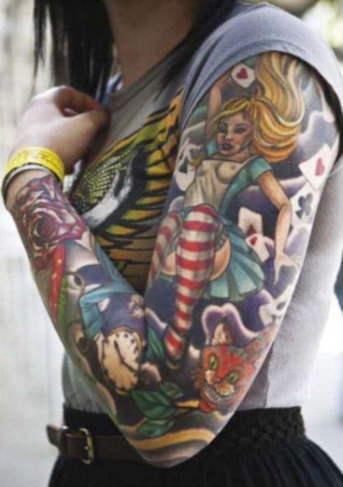 Tatuagens de Alice no Pais das Maravilhas 08