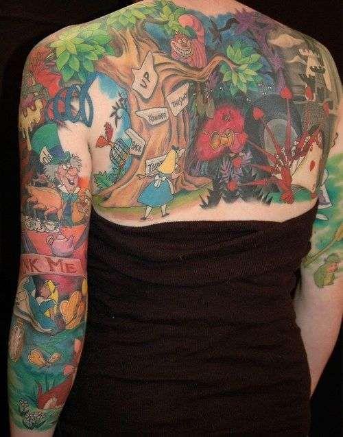 Tatuagens de Alice no Pais das Maravilhas 10
