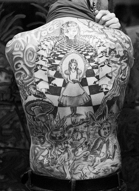 Tatuagens de Alice no Pais das Maravilhas 11
