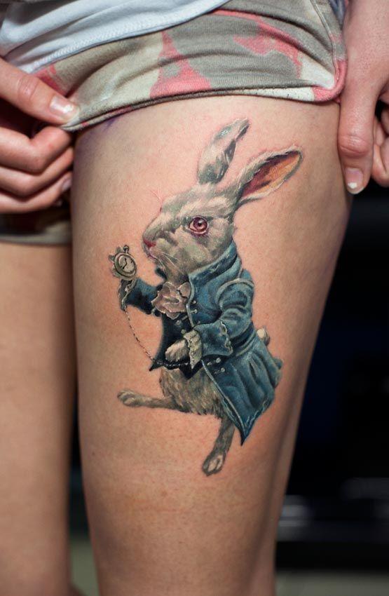 Tatuagens de Alice no Pais das Maravilhas 12