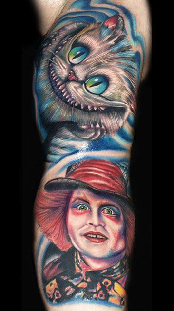 Tatuagens de Alice no Pais das Maravilhas 14