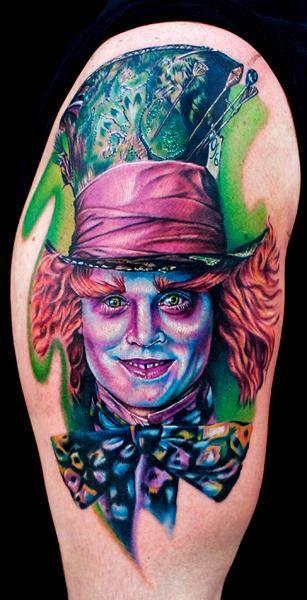 Tatuagens de Alice no Pais das Maravilhas 15