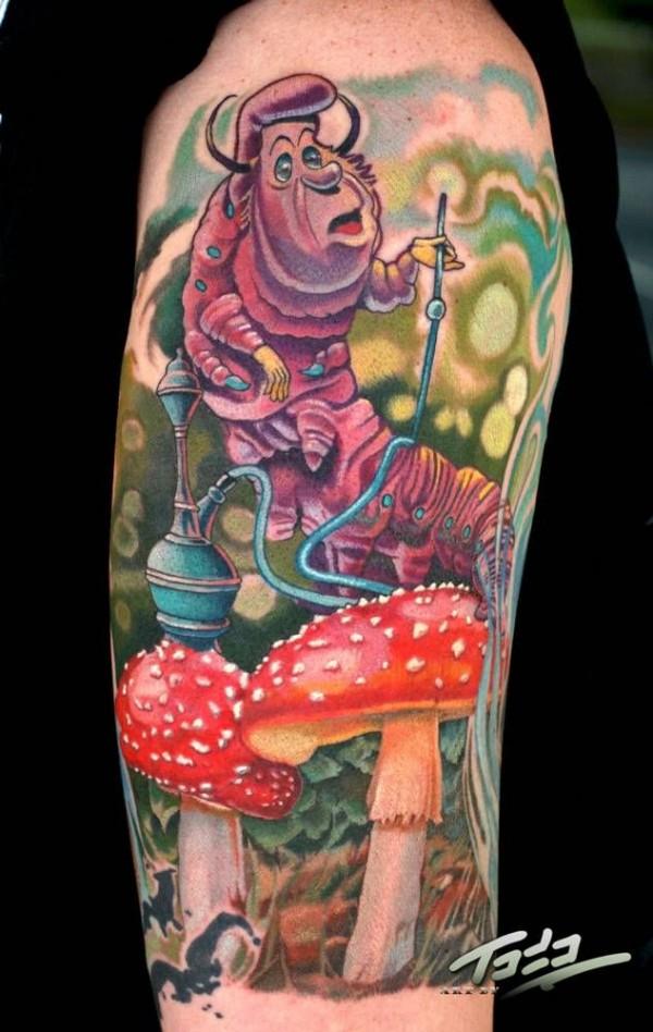 Tatuagens de Alice no Pais das Maravilhas 16