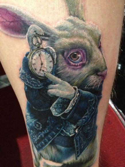 Tatuagens de Alice no Pais das Maravilhas 22