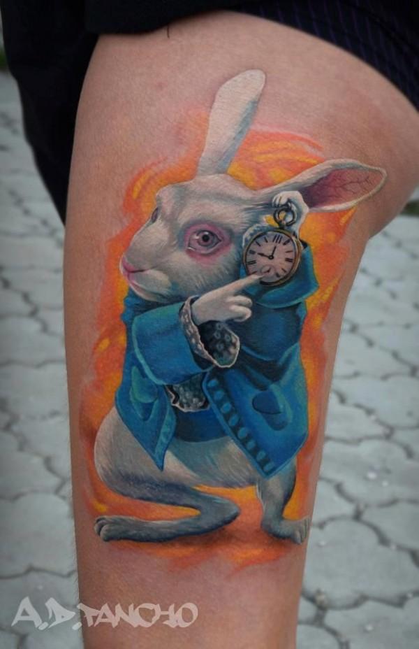 Tatuagens de Alice no Pais das Maravilhas 23
