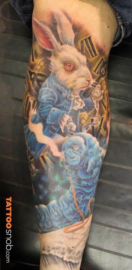 Tatuagens de Alice no Pais das Maravilhas 25