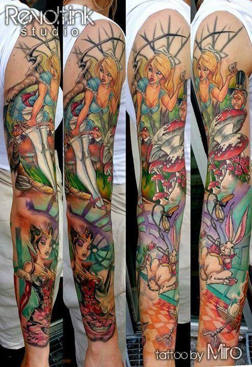 Tatuagens de Alice no Pais das Maravilhas 27